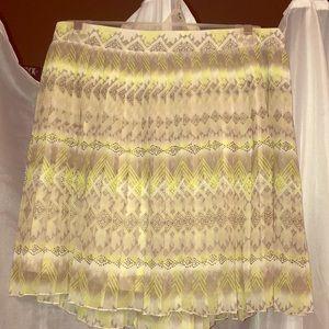American Eagle pattern mini skirt Size: 6